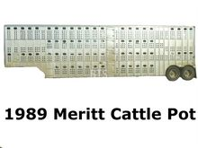 1989 MERRITT Cattle Pot