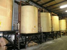 Polypropylene 3,000 gallon Tank