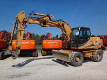 2008 Case WX165 Wheeled excavat