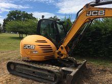 2010 JCB 8085ZTS Track excavato