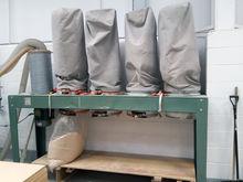 P&J 4 Bag Dust Extraction Unit