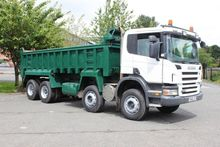 2009 Scania P340 8x4 Tipper