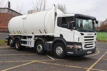 2006 Scania P340 8x2 Water/Milk