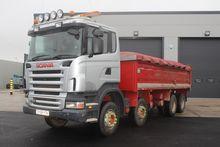 2008 Scania R420 8x4 Tipper