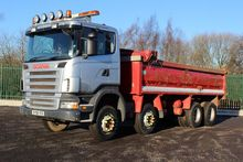 2008 Scania R420 8x4 Tipper