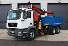 2009 MAN TGM 26.340 6x4 Tipper