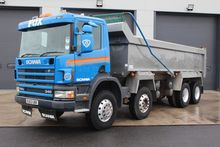 2003 Scania 114 340 8x4 Tipper