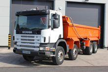 2004 Scania 114 380 8x4 Tipper