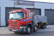 2005 Scania P380 8x4 Tipper