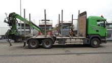 2010 Scania R 440 6X4 LOG TRANS