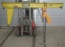 1972 ABUS V Slewing Cranes