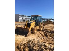 2003 Caterpillar 420D Rigid Bac