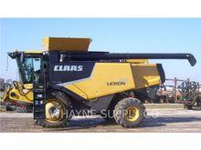 2011 Claas LEX750 Combine harve