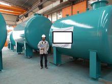 Horizontal Storage Tanks with S