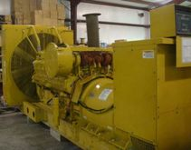 Cat 3512 1000kw Open Genset , 6