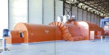 Gas and Oil Fired Power Plant (