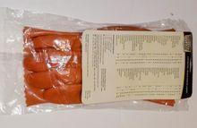 Double Dipped PVC Orange Gloves