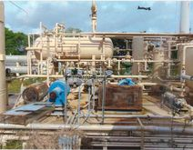 Gas Processing Facility Plant
