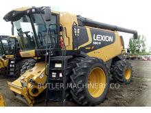2009 LEXION COMBINE LEX 580R