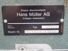 1988 Muller Martini Webstacker