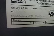 Man-Roland EPS Plate Scanner 41