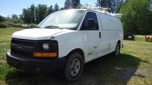 2003 Chev Express 3500 cargo wo