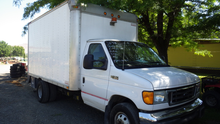 2005 E450 Econline Box Van (Lot
