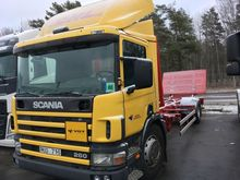 2001 Scania P94 loose container