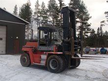 Kalmar DC9, loaders and diggers