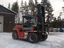Kalmar DC9, loaders and diggers