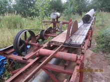 Disc sawmill of own production,