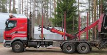 Sisu E14, Timber trucks