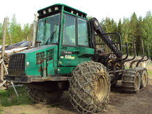 Timberjack 1010 B, Forwarders