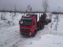 Volvo FH13 + Loglift 105, Timbe