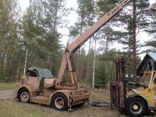Demac crane, loaders and digger