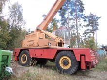 Mobile crane Lokomo M350N, Trac