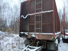 Lipe 3 axle trailer, chip truck