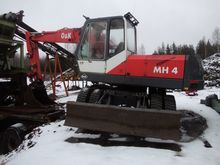 O & K MH4, Loaders and excavato