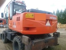 Hitachi Zaxis 160W, loaders and