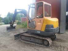 Volvo EC45, loaders and diggers