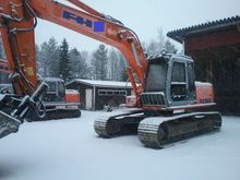 Hitachi EX 165 LC, Loaders and
