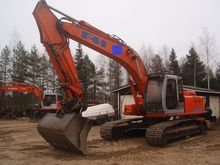 Hitachi EX 215, loaders and dig
