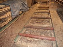 Roller conveyor, Sawmill