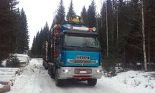 Sisu E18 630 8x4, Timber transp