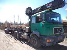 Man 6x4, Timber trucks