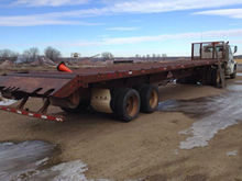 Haulin T-24 T/A 49' Flatbed Tra