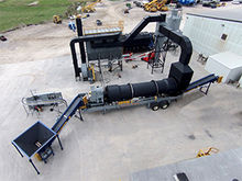Vulcan® 25 TPH Gypsum Dryer Sys