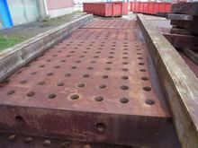 Large clamping table 13 000 x 4
