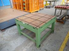 Used T-slot table 10
