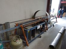 Spiro circular saw for ducts